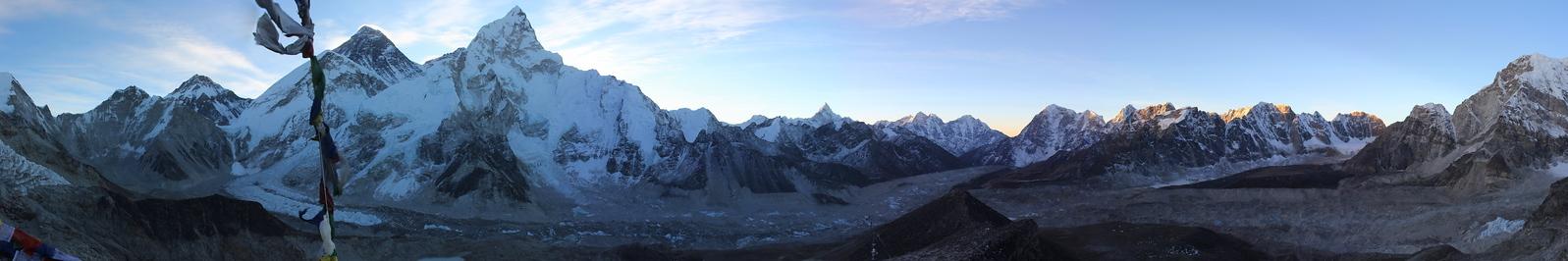 Kala Pattar View Panorama