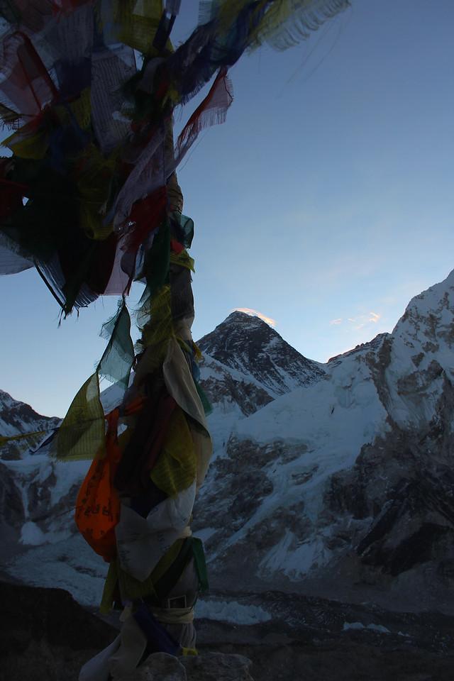 Mount Everest Prayer Flags