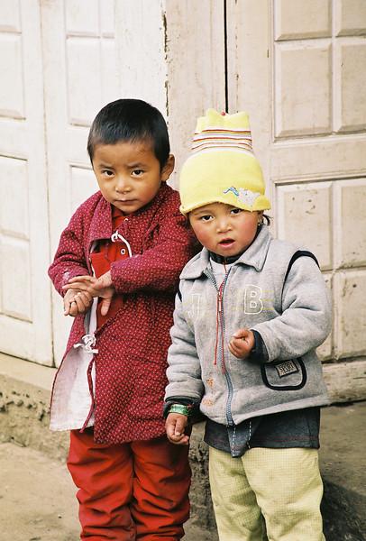 Children in Lukla