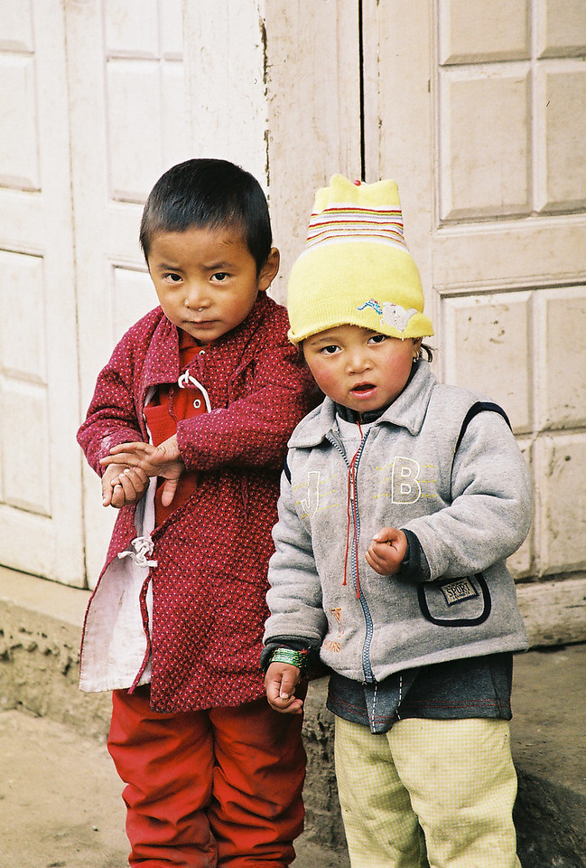 Children in Lukla