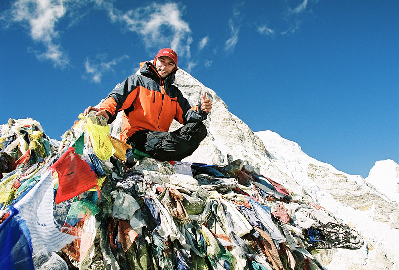Me atop Kala Patthar (5545m)