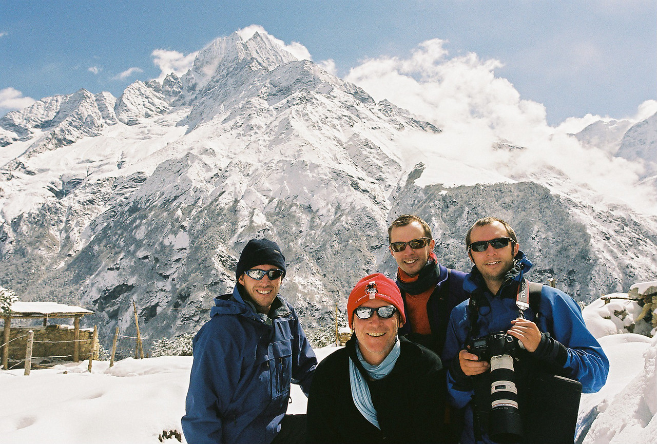 Richard, Neal,Me and Michael