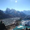 Three of the Gokyo lakes - there are five.
