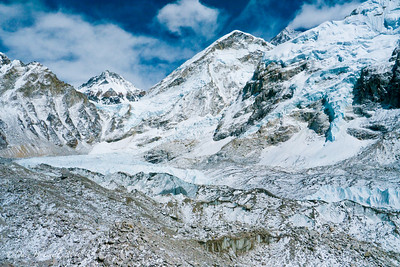 The Khumbu Ice Field right at Everest Base Camp