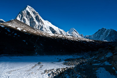Kala Pattar in Laboche on the Everest Base Camp Trek in Nepal