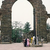 The iron pillar in Delhi