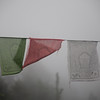 prayer flags representing the five elements