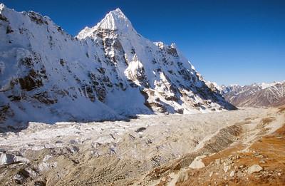 Kangchenjunga Glacier and Wedge Peak