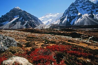 Ghunsa Khola valley near Ramtang