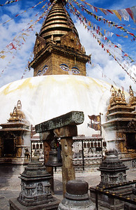 Swayambhunath (Monkey Temple) in Kathmandu