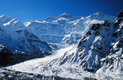 Kangchenjunga Glacier and Peak