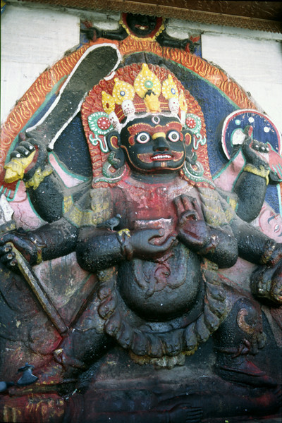 One of many hindu deities
