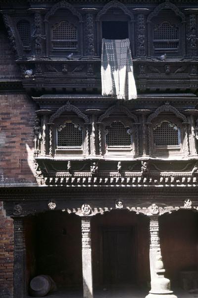 Window at Kumari devis (Living godess) residence