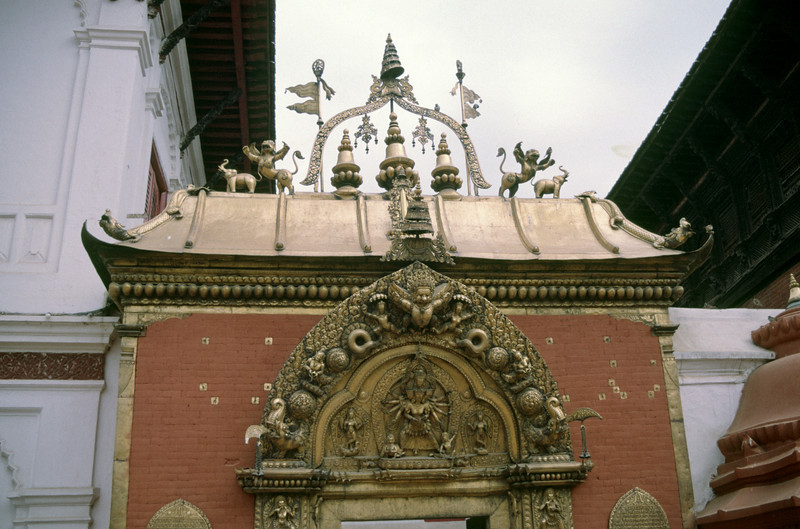Golden gate in Bhaktapur