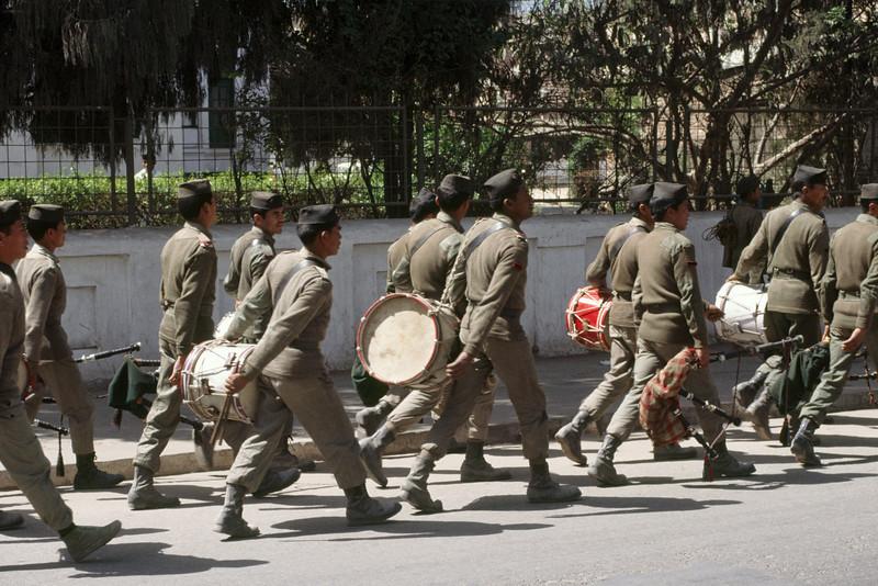 Gurkha soldiers in Kathmandu
