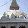 Buddhist stupa at Bodhnath. Biggest in Nepal.