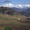 View towards Annapurna himal from Besi sahar.