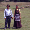 My sherpa Temba Lama with wife Dikku.
