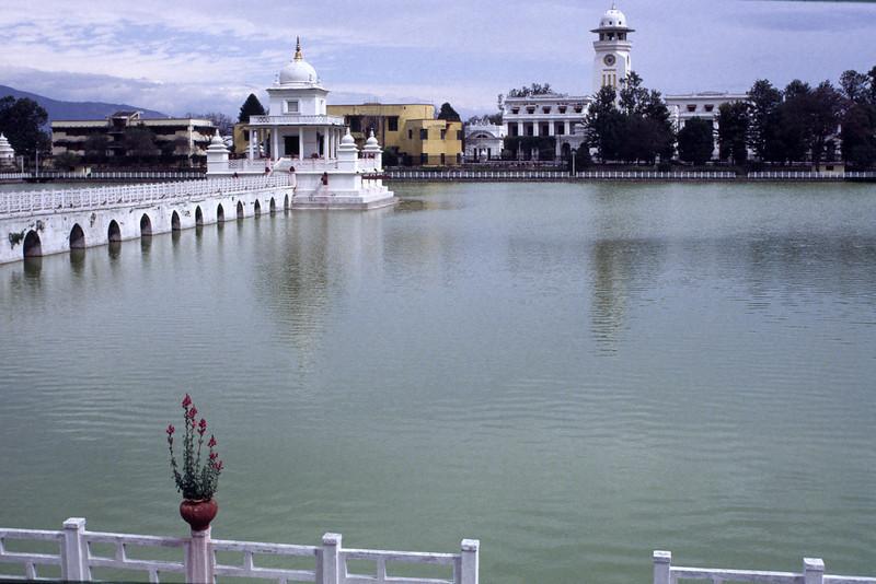 Ratna park in Kathmandu