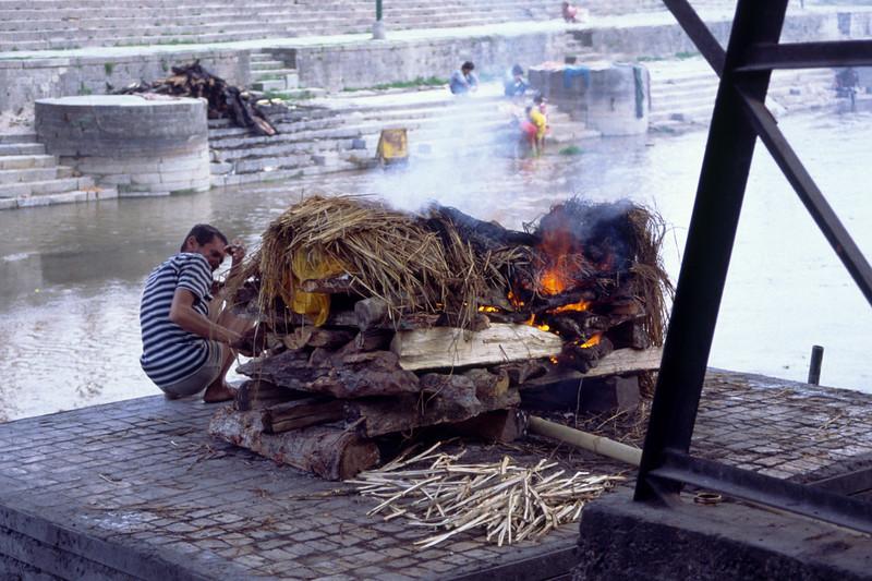 Cremation at Pashupatinath