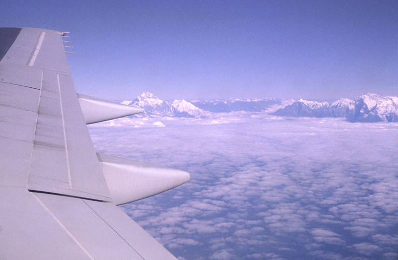Dhaulagiri to the left