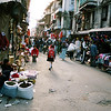 Walking from Kantipath Road towards Durbar Square