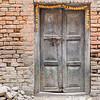 Garland Around the Doorway