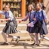 Girls Running from Boys
