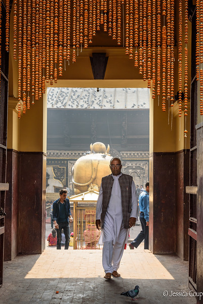 Entrance for Hindus Only