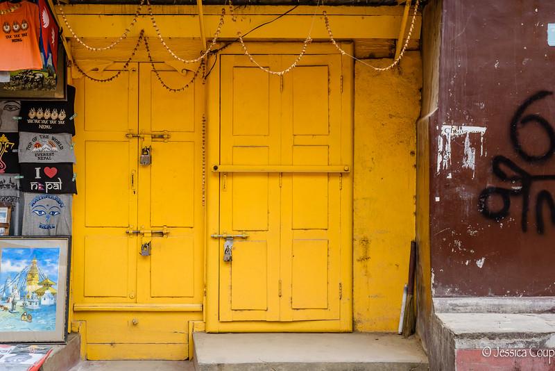 Yellow Doorway