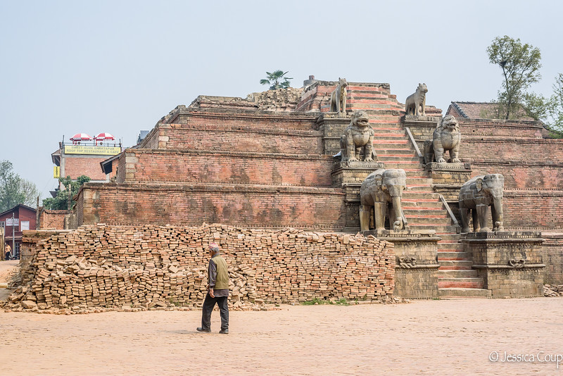 Fallen Monument