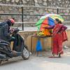 Vendor Outside the Temple