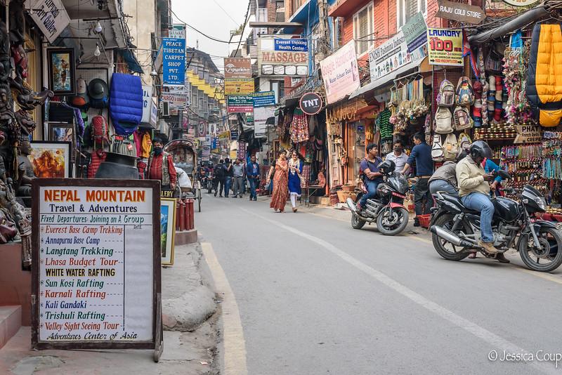 A Street in Thamel