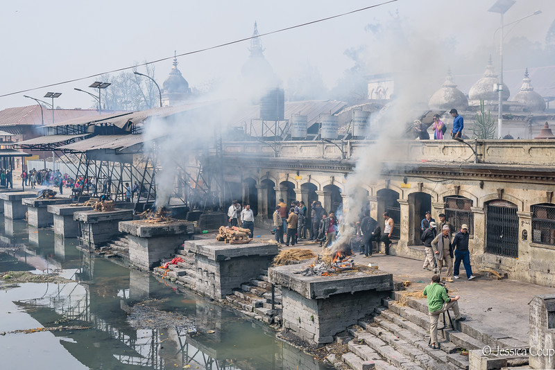 Cremations at the Temple