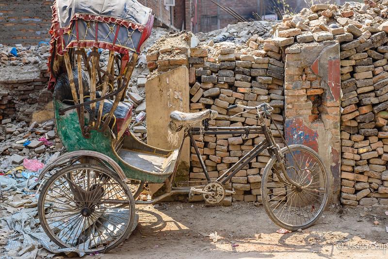 Frayed Rickshaw