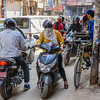 Bikes+Cars+ Rickshaws=Chaos