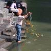 Ritual bathing by Hindus along the Bagmati River.