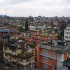 Kathmandu from our hotel rooftop
