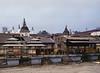 Bagmati River, Crematorium, Pashupatinath Temple, Kathmandu, Nepal (Bronica 645)