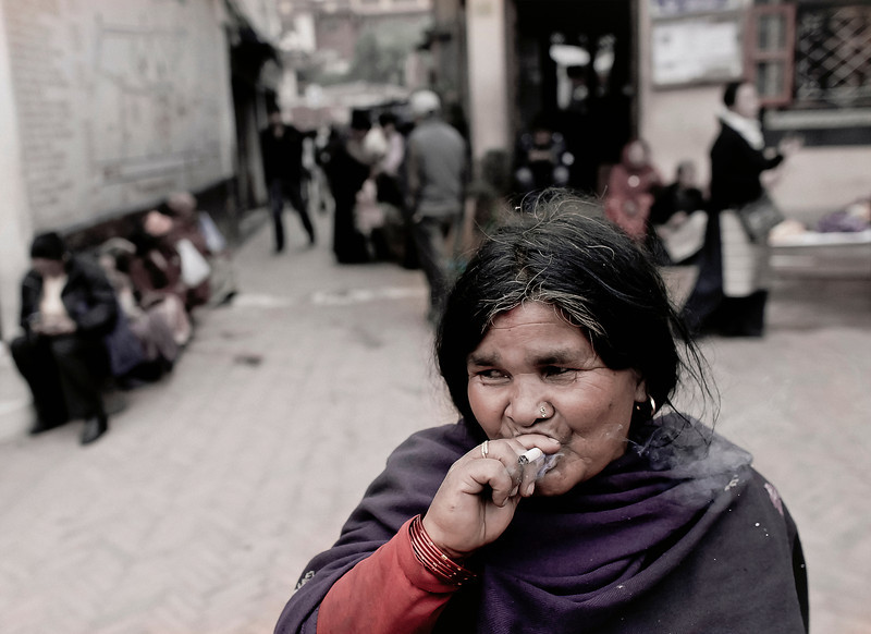 Take My Picture (While I Smoke), Kathmandu, Nepal