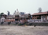 Bagmati River, Pashupatinath Temple, Kathmandu, Nepal (Bronica 645)