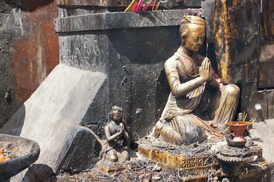 """Swayambhunath Stupa. (aka, """"Monkey Temple""""), Kathmandu, Nepal"""