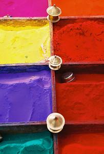 Powdered paint, Kathmandu
