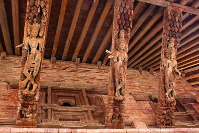 Carvings in Durbar Square, Kathmandu, Nepal
