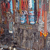masks, beads, and souvenirs