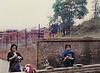 Behind a Wall, Kathmandu, Nepal (Bronica 645)