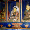 Buddha and friends - local monastery.