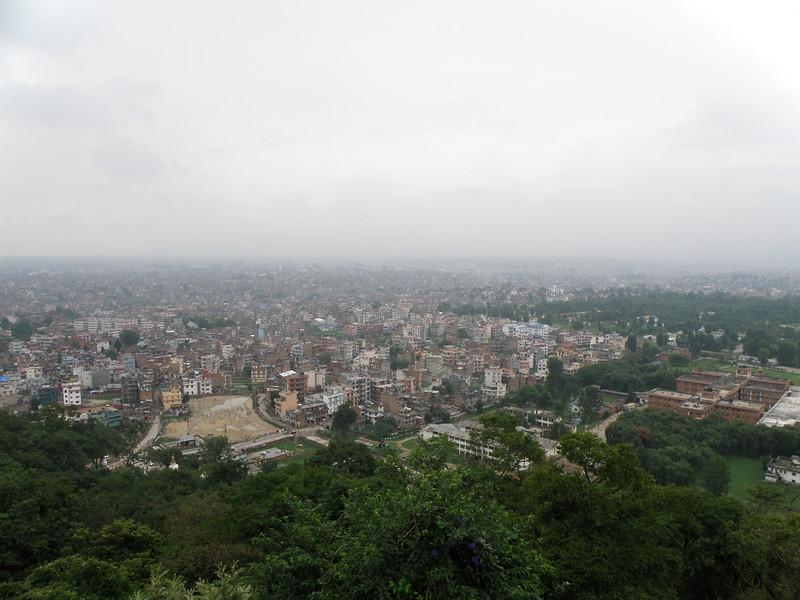 Kathmandu as seen from the Monkey Temple