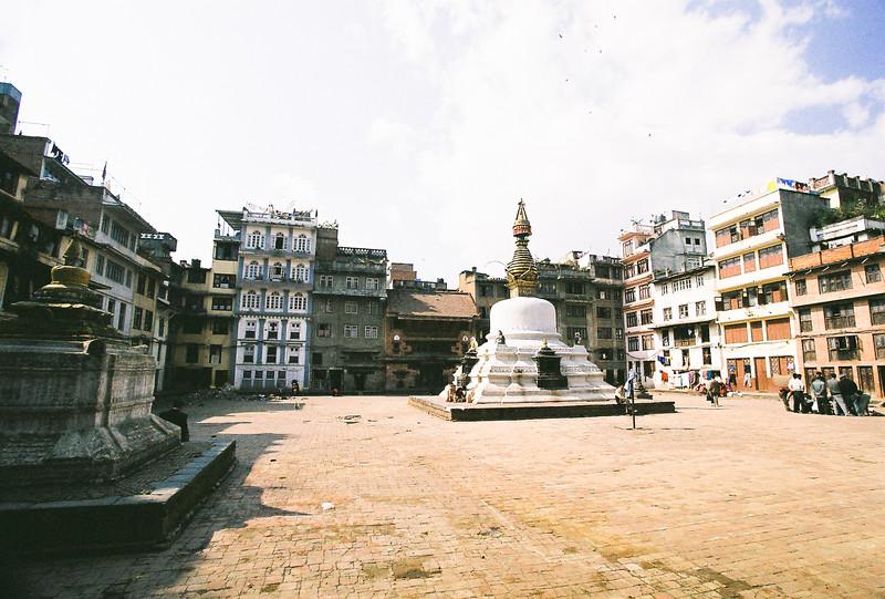 Stupa near Durbar Square, Kathmandu