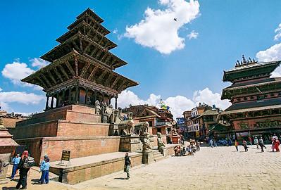 Taumadhi Tole in Durbar Square, Bhaktapur